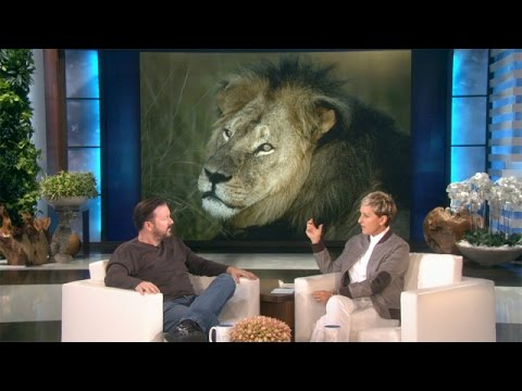 Ellen and Ricky on Cecil the Lion