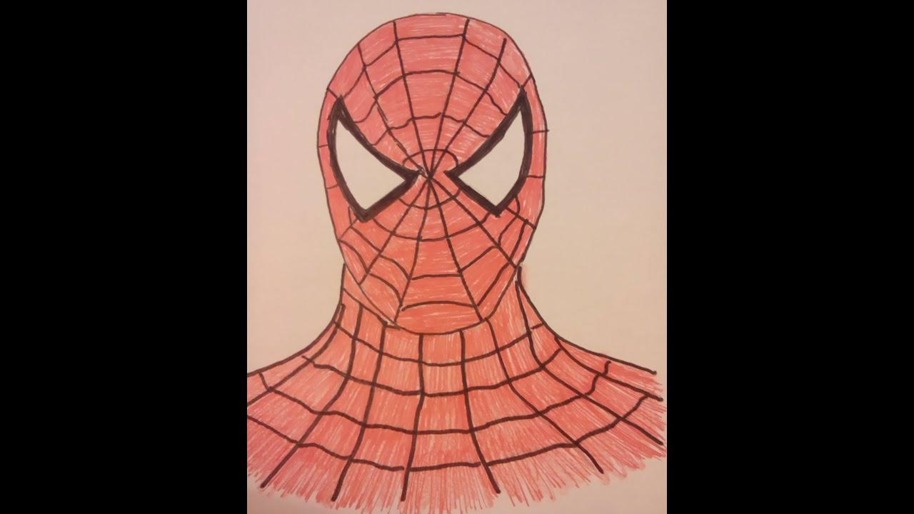 spiderman zu malen