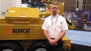 Video still for Bearcat Mfg. showcases the revamped BK-250 Crack Sealer