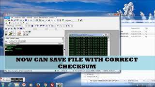 Checksum correction with WinOLS