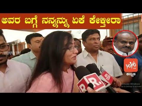 Sumalatha Meets BJP Leaders SM Krishna ,Yeddyurappa | YOYO Kannada News