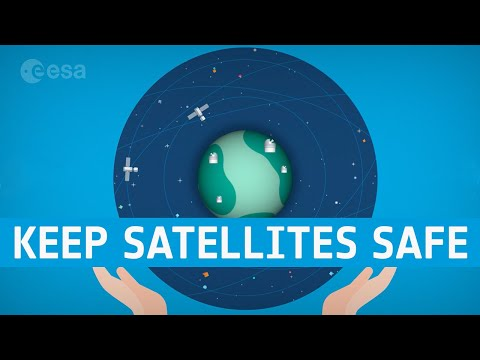 Dodging debris to keep satellites safe