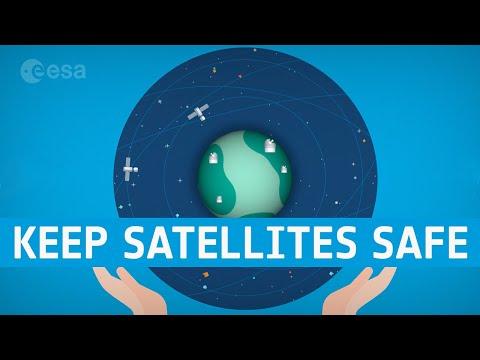 Dodging debris to keep satellites safe