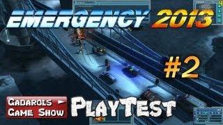 Emergency 2013 Gameplay #2 Mission 1 und 2 Alte im Playtest deutsch HD