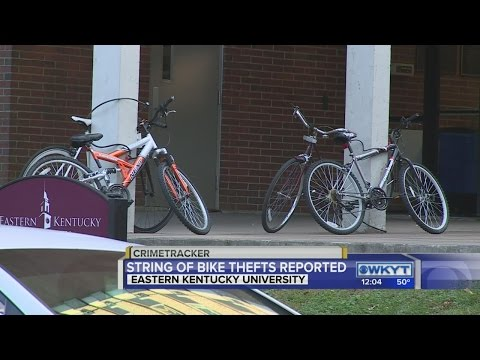 Police warn of bicycle thefts at Eastern Kentucky University