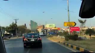 Driving to Lahore Airport (Allama Iqbal International Airport )