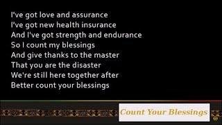 Nas & Damian Marley - Count Your Blessings [Lyrics]