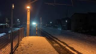 156M代走 E129系B15編成 内野西が丘駅到着
