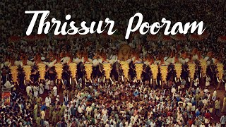 Thrissur Pooram, Festival of Festivals