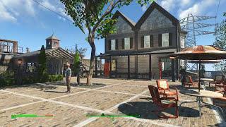 Fallout4 Обзор поселений - Ферма Эбернети.