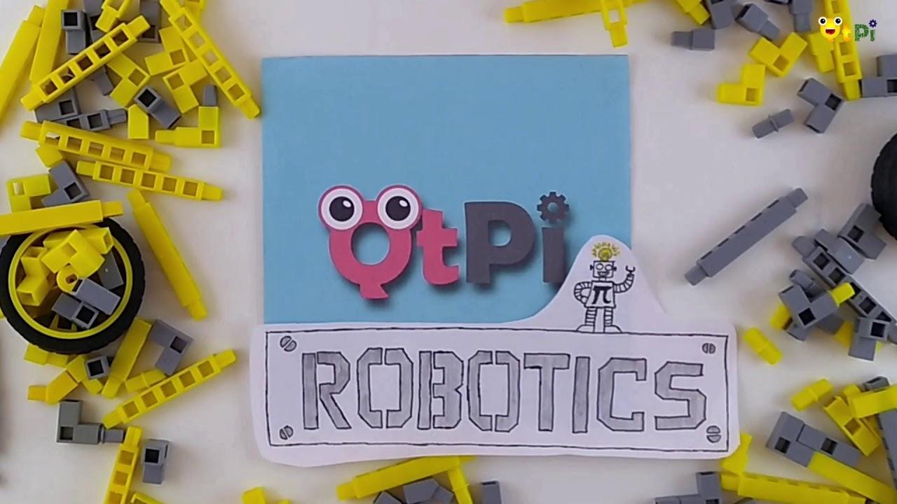 Qtpi Robotics Bengaluru Tech Summit Conveyor Belt Youtube