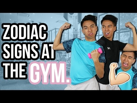 Zodiac Signs as Types of People at the Gym