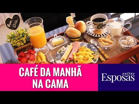 Café da Manhã na Cama Surpreendente e Especial