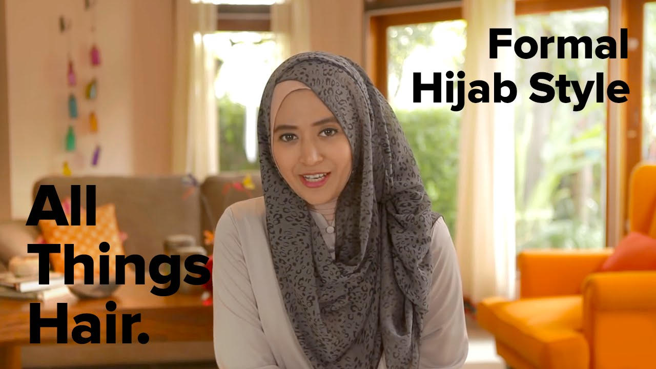 Tutorial Gaya Hijab Formal By Natasha Farani YouTube