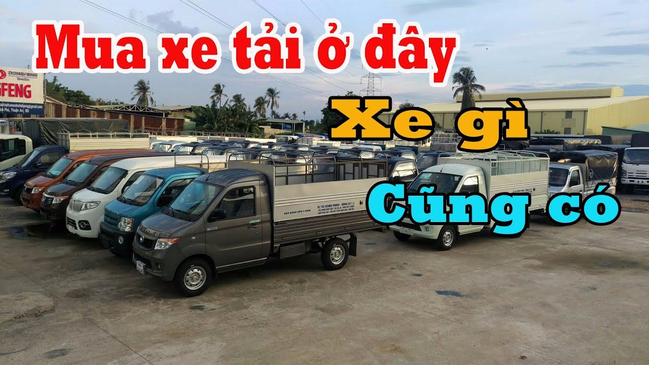 Xe tải nhỏ 2018, Nên mua xe tải 1 tấn nào? Các dòng xe 700kg đến 1 tấn, Dongben, Suzuki, Kenbo - YouTube