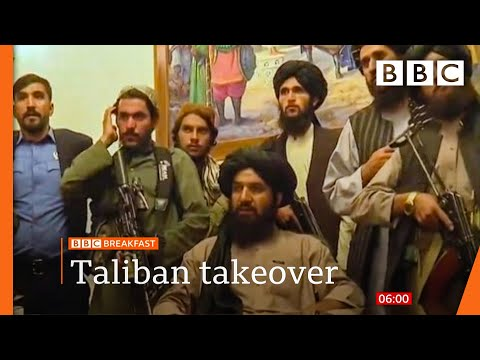 The Taliban seize power in Afghanistan @BBC News live 🔴 BBC