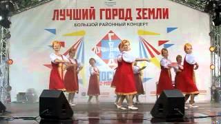 1 «В роще калина» Русский народный танец «Театр Эстрадного Танца». Орехово Борисово 07072013