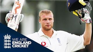 Flintoff's Classic Hundred At Trent Bridge 2005 Ashes - Full Highlights