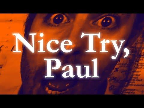 Nice Try, Paul - Как поздравить с Днем Рождения