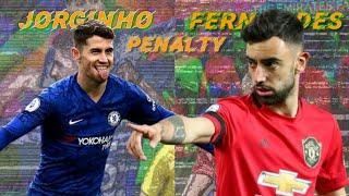 Download lagu Jorginho vs Bruno Fernandes penalty technique