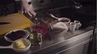 Салат с грушей и финиками от банкет-холла Paradise