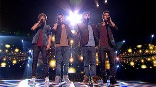Union J sing for survival - Live Week 8 - The X Factor UK 2012
