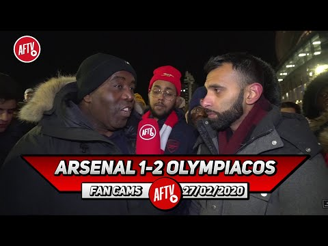 Arsenal 1-2 Olympiacos | Keep Your Head Up Aubameyang !! (Moh)