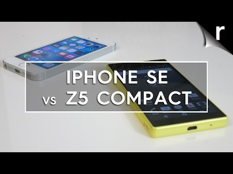 Apple iPhone SE vs Sony Xperia Z5 Compact