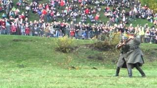 Szczecin 11 listopada walka na bagnety