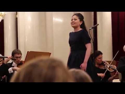 "Diana Nurmukhametova. Mozart ""Exultate,jubilate! 2 часть."