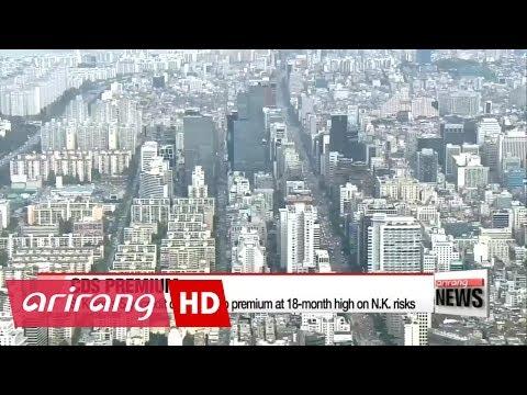 S. Korea's 5-yr credit default swap premium at 18-month high on N.K. risks