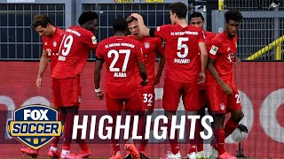 Watch Online Bayern Munich's Kimmich stuns Dortmund with chip for game's only goal 2020 Bundesliga Highlights