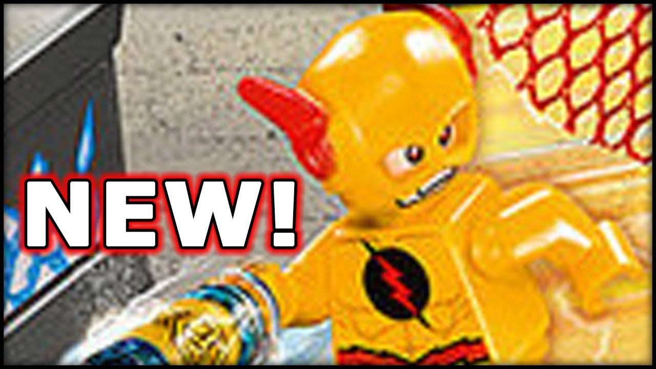 New! Lego DC Superheroes! Reverse Flash, Superman, Batman ...