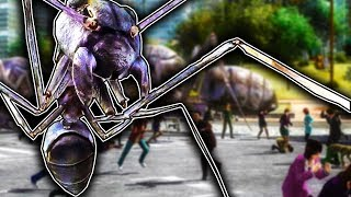 GIANT INSECTS SWARM THE WORLD! - Earth Defense Force 4.1 Gameplay - EDF The Shadow of New Despair