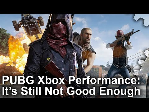 [4K] PUBG Xbox One/X Performance Is Still Not Good Enough - And The Developer Agrees