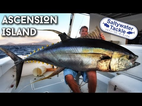 Popping & Jigging Ascension Island