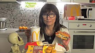 McDonalds mukbang Мукбанг 먹방 Макдональдс Марта АСМР Marta ASMR