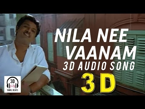 Nila Nee Vaanam Kaatru 3d Audio Song  Pokkisham  Must Use Headphones  Tamil Beats 3d