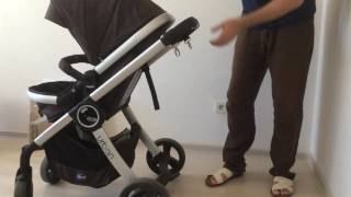 видео Коляска-трансформер CHICCO URBAN PLUS, Black (без аксессуаров)