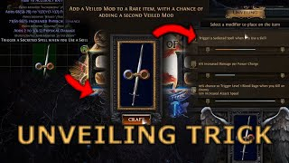 [Path of Exile] The Unveiling Trick You Should Know About