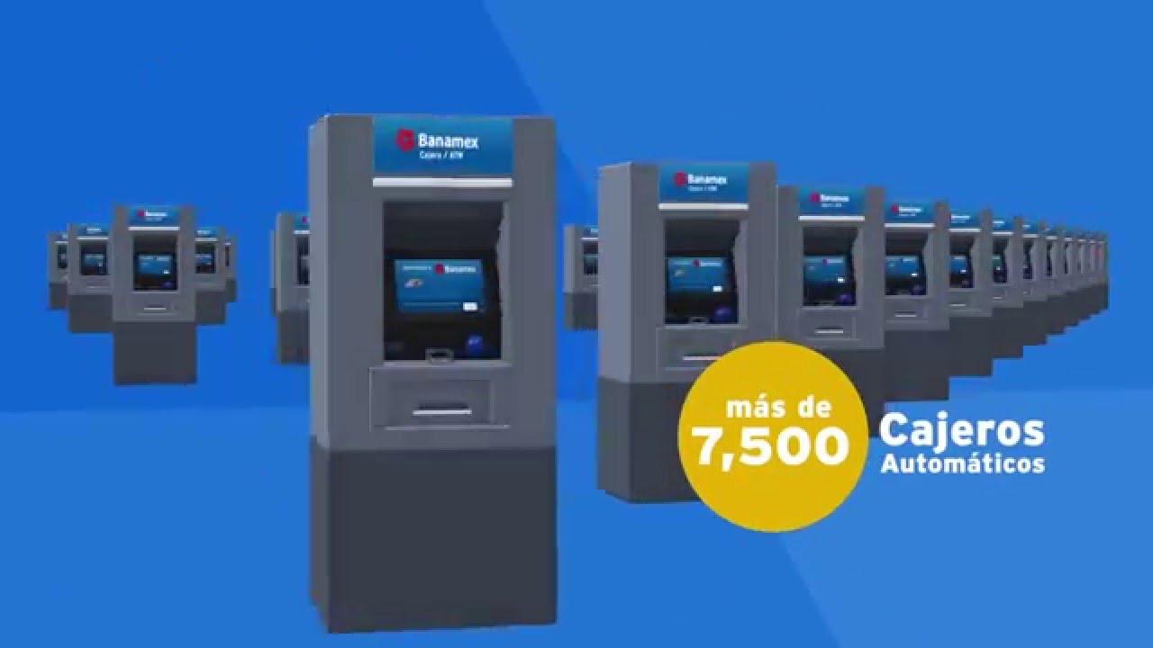 Banamex: Pagar Tarjeta Crédito, Cajero Automático, Banamex