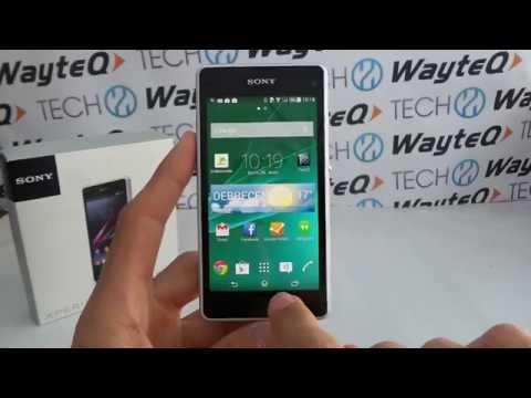 Sony Xperia Z1 Compact Android 4.4 KitKat bemutató videó | Tech2.hu