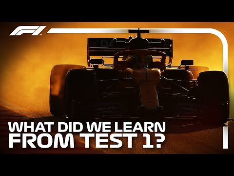 What Did We Learn From The First Pre-Season Test?