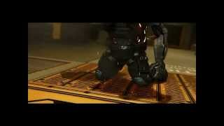 Убиваем первого босса Лоуренса Барретта в Deus Ex Human Revolution на максимальном уровне сложности персом заточен