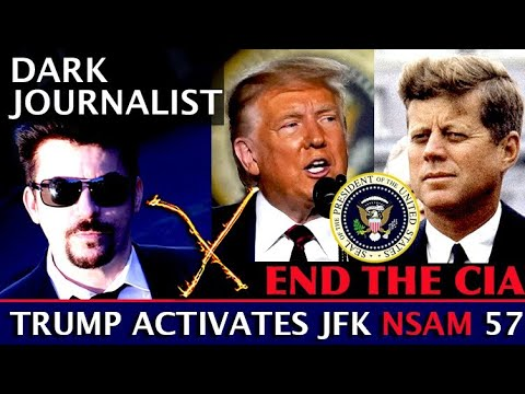 Dark Journalist X-Election: Deep State Showdown - Trump Uses JFK National Security Memo 57!