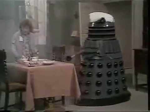 Dalek Seven-2 on Spike Milligan