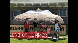 Family Vlog 1: END OF OUR U.S. SUMMER HOLIDAY!!