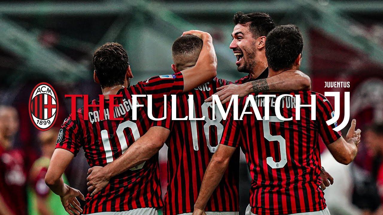 Download Full Match | AC Milan 4-2 Juve | Serie A TIM 2019/20
