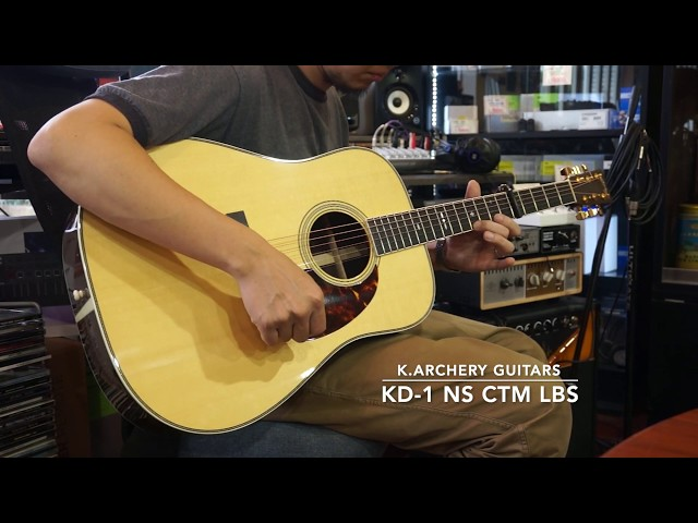 K.Archery Guitars KD-1 NS CTM LBS