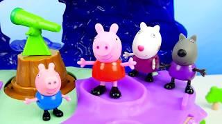 Мультики с игрушками СВИНКА ПЕППА и её друзья на детском канале Носики Курносики